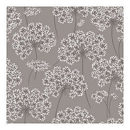 Nuwallpaper Angelica Peel And Stick Wallpaper in Grey