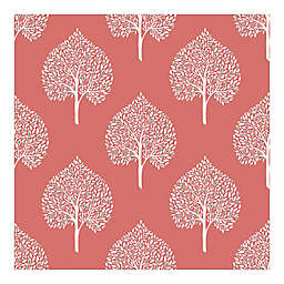 Nuwallpaper™ Grove Peel And Stick Wallpaper in Coral