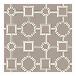 NuWallpaper™ Utopia Geo Peel & Stick Wallpaper in Taupe