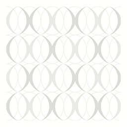 Nuwallpaper™ Circulate Peel And Stick Wallpaper in Light Silver