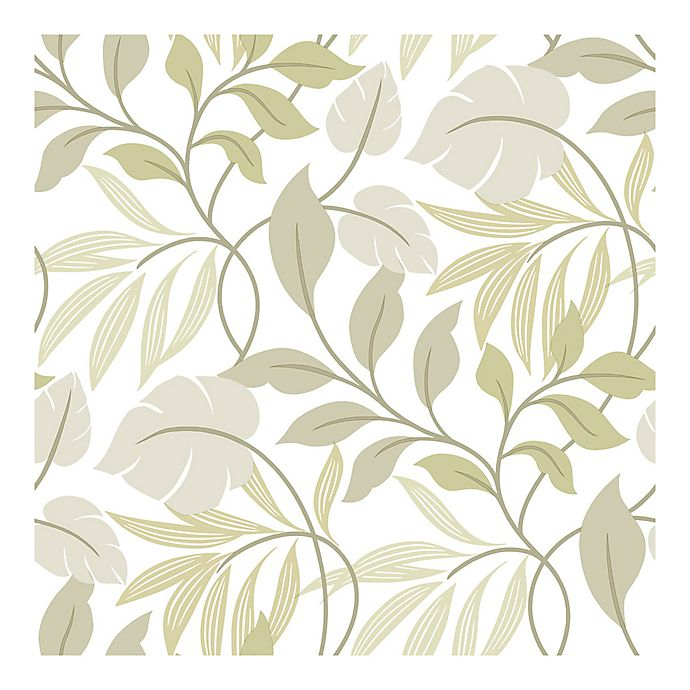 Alternate image 1 for NuWallpaper™ Meadow Peel & Stick Wallpaper in Neutral