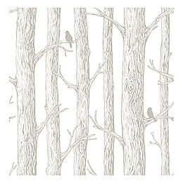 NuWallpaper™ The Forest Peel & Stick Wallpaper in Grey