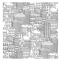 Nuwallpaper™ Metropolis Peel & Stick Wallpaper in Black