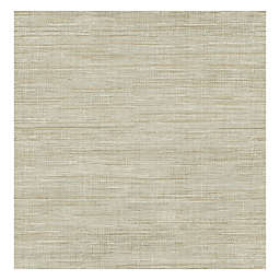 Grasscloth Wallpaper in Woven Beige