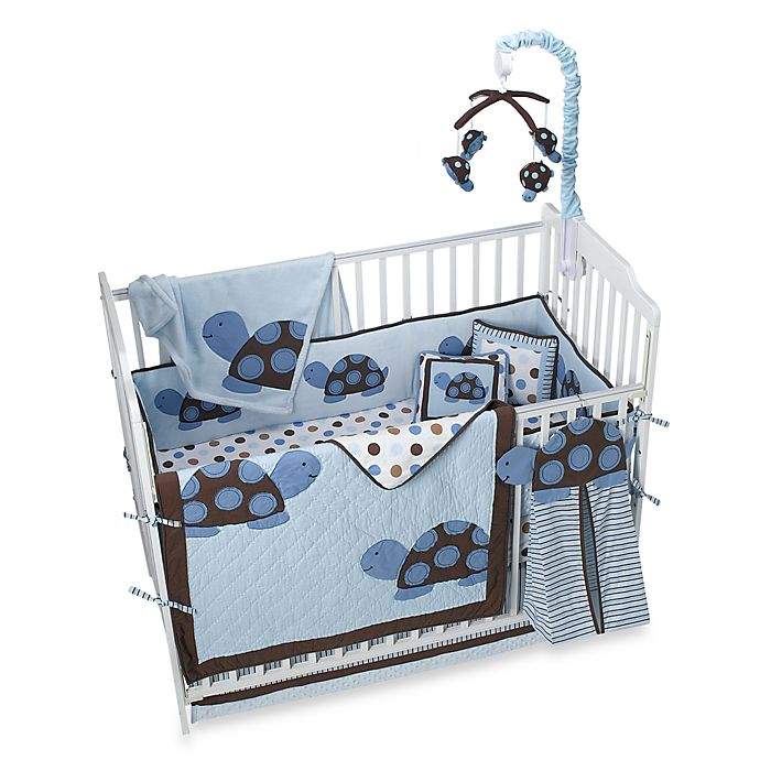 Kids Line™ Mod Turtle Crib Bedding and Accessories ...