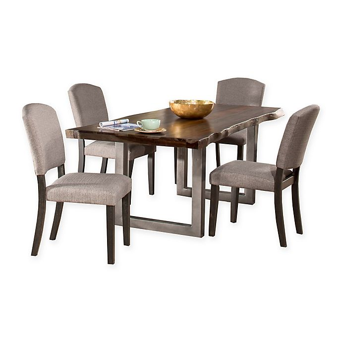 Stupendous Hillsdale Emerson 5 Piece Rectangle Dining Set Bed Bath Pdpeps Interior Chair Design Pdpepsorg