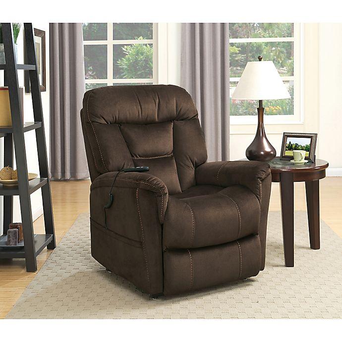 Alternate image 1 for Pulaski Serengeti Power Lift Chair in Dark Brown