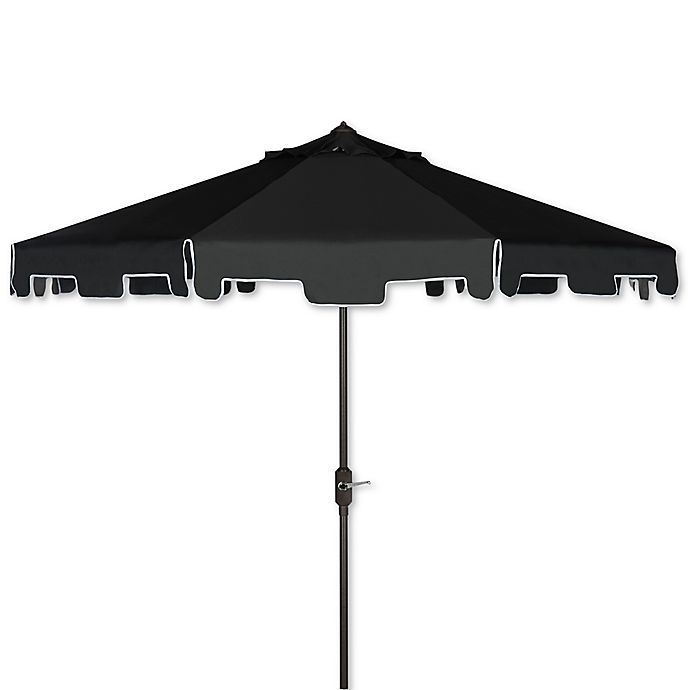 Uv Patio Umbrella: Buy Safavieh UV Resistant Zimmerman 9-Foot Crank Market