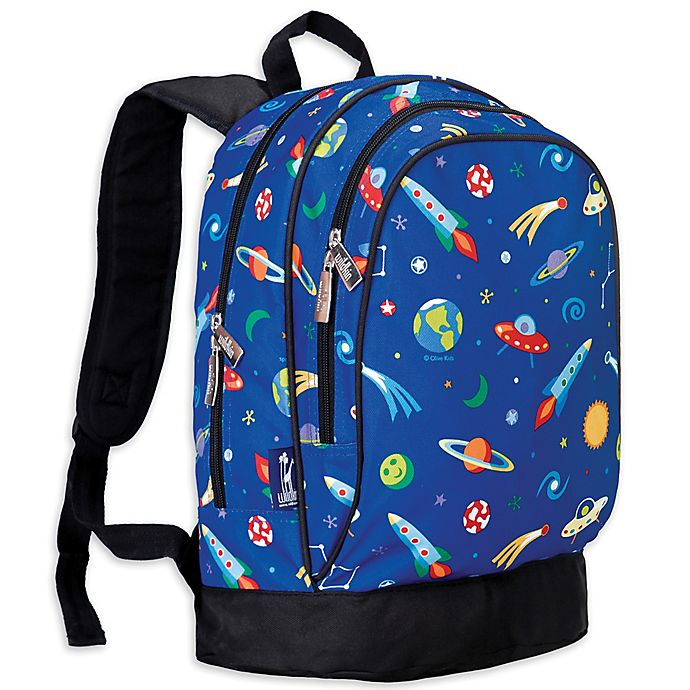 Alternate image 1 for Olive Kids Out Of This World Sidekick Backpack in Blue
