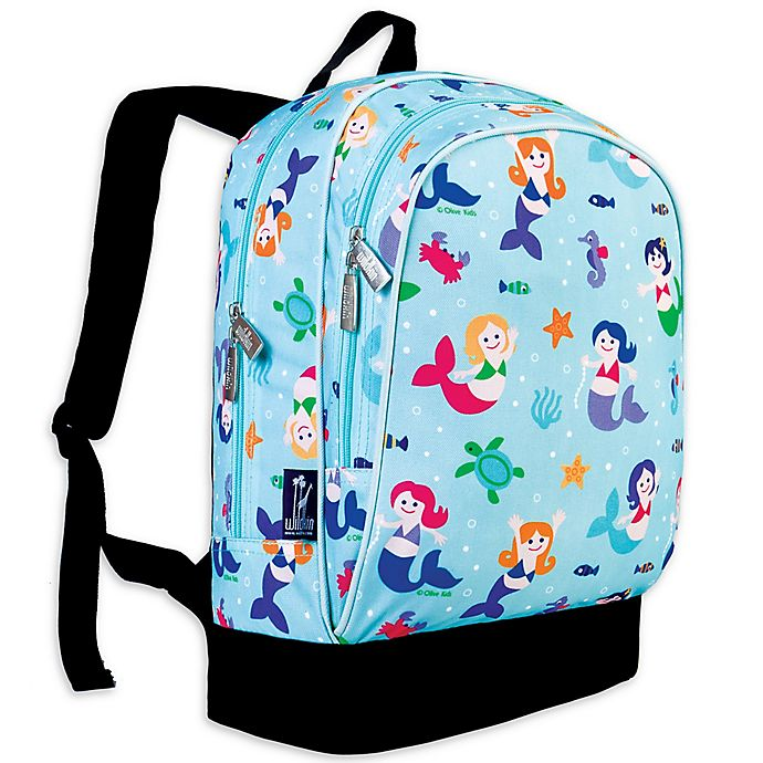 Alternate image 1 for Olive Kids Mermaids Sidekick Backpack in Blue