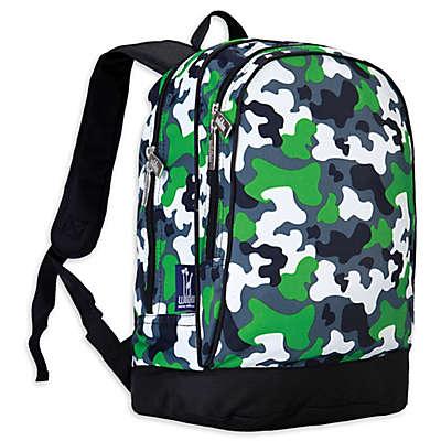 Wildkin Green Camo Sidekick Backpack