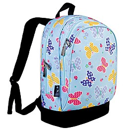 Olive Kids Butterfly Garden Sidekick Backpack in Blue