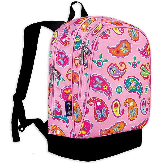 Alternate image 1 for Olive Kids Paisley Sidekick Backpack in Pink