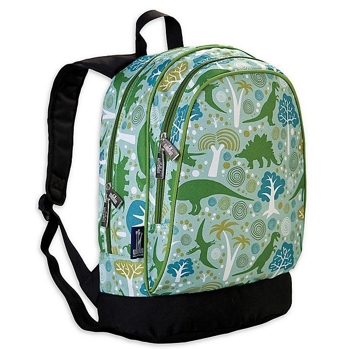 Alternate image 1 for Wildkin Dinomite Dinosaurs Sidekick Backpack in Green