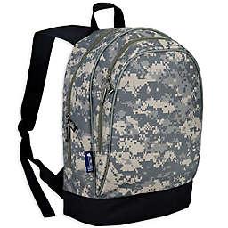 Wildkin Sidekick Digital Camo  Backpack in Green