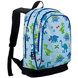 Olive Kids Sidekick Dinosaur Land Backpack in Blue