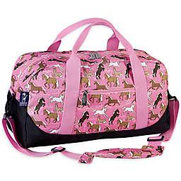 Wildkin Pink Horses Duffel Bag