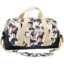 Wildkin Horse Dreams Duffel Bag in Tan