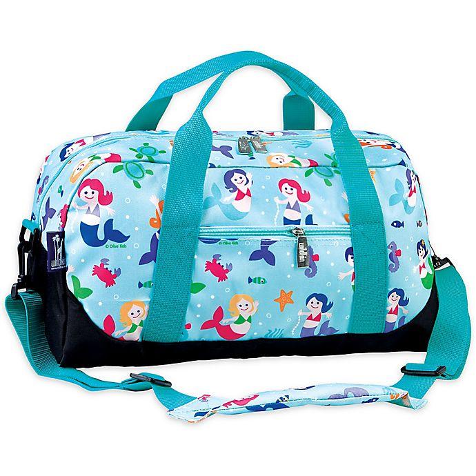 Alternate image 1 for Olive Kids™ Mermaid Duffel Bag in Blue