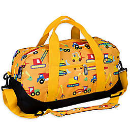 Wildkin Under Construction Duffel Bag in Yellow