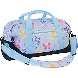 Olive Kids Butterfly Garden Duffle Bag in Blue