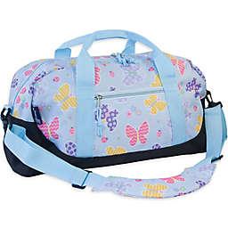 Olive Kids Butterfly Garden Duffle Bag in Blue