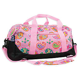 Olive Kids Paisley Duffle Bag in Pink