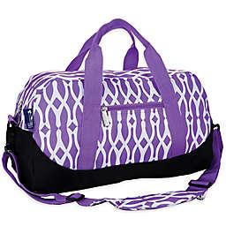 wildkin Wishbone Duffle Bag in Purple