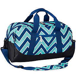Wildkin Zigzag Lucite Overnighter Duffel Bag in Green