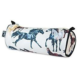 wildkin Dream Horses Pencil Case in Tan