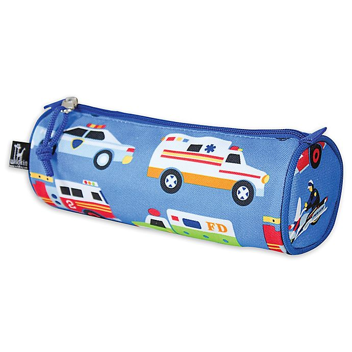 Alternate image 1 for Olive Kids Heroes Pencil Case in Blue