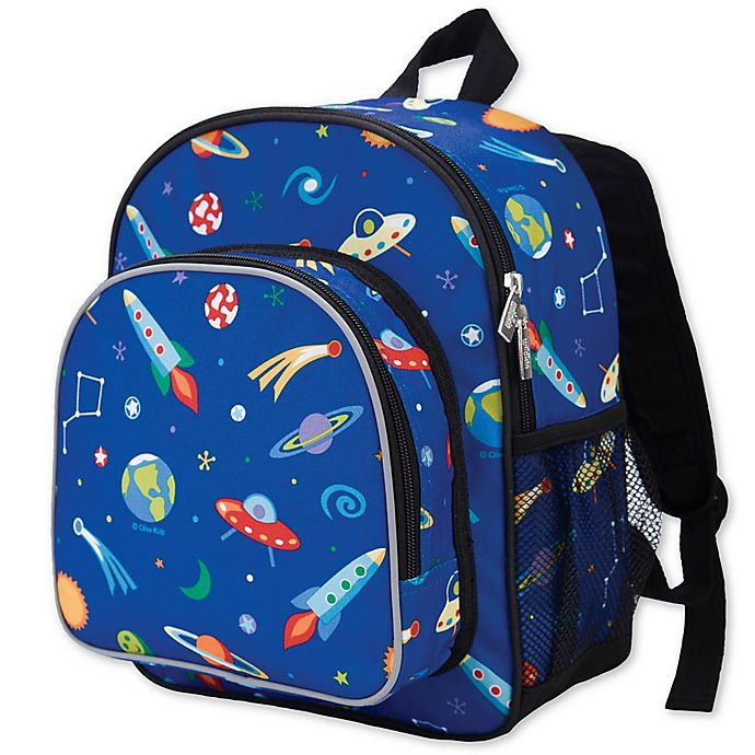 Alternate image 1 for Olive Kids Out Of This World Pack 'N Snack Backpack in Blue