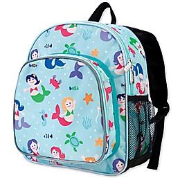 Olive Kids Mermaids Pack 'N Snack Backpack in Blue