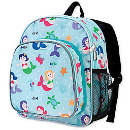 Olive Kids Mermaids Pack 'N Snack Backpack in Blue