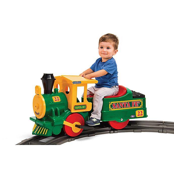 Alternate image 1 for Peg Perego Santa Fe 6-Volt Ride-On Train