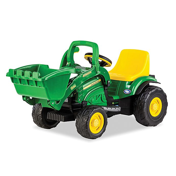 Alternate image 1 for Peg Perego John Deere 6-Volt Ride-On Mini Power Loader