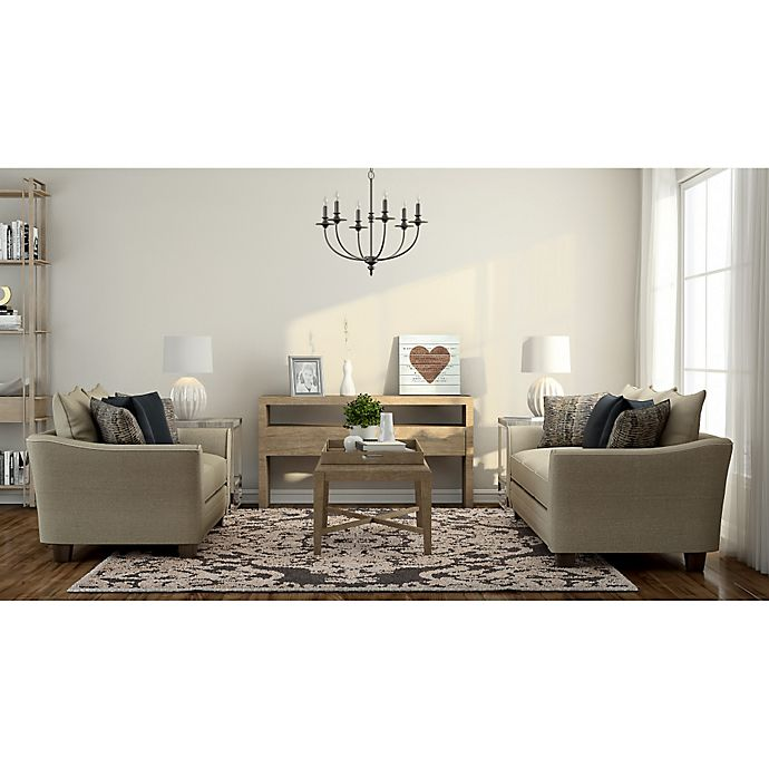 Alternate image 1 for Contemporary Neutral Living Room