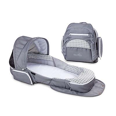 Baby Delight® Snuggle Nest® Traveler  Portable Infant Sleeper in Grey Diamond