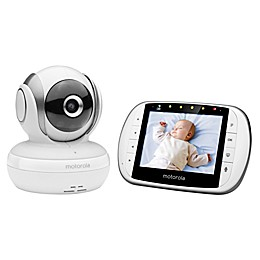 "Motorola® MBP33XL 3.5"" Video Baby Monitor White"