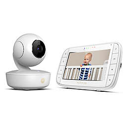 "Motorola® MBP36XL Portable 5"" Video Baby Monitor in White"