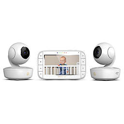 "Motorola® MBP36XL-2 Portable 5"" Video Baby Monitor with 2 Cameras in White"