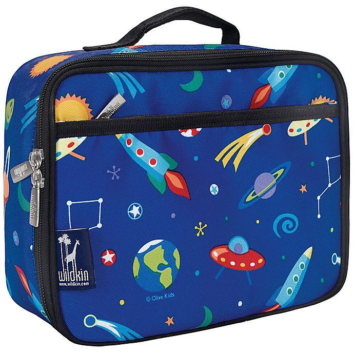 Alternate image 1 for Wildkin Out of This World Lunch Box in Blue