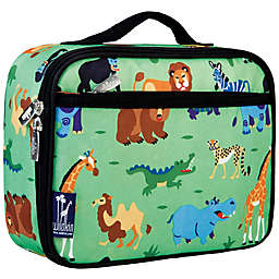 Wildkin Wild Animals Lunch Box in Green