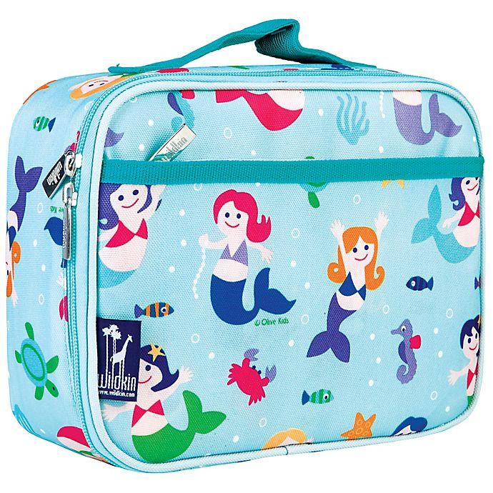 Alternate image 1 for Wildkin Mermaids Lunch Box in Blue
