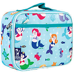 Wildkin Mermaids Lunch Box in Blue