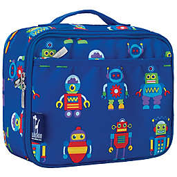 Wildkin Robots Lunch Box in Blue
