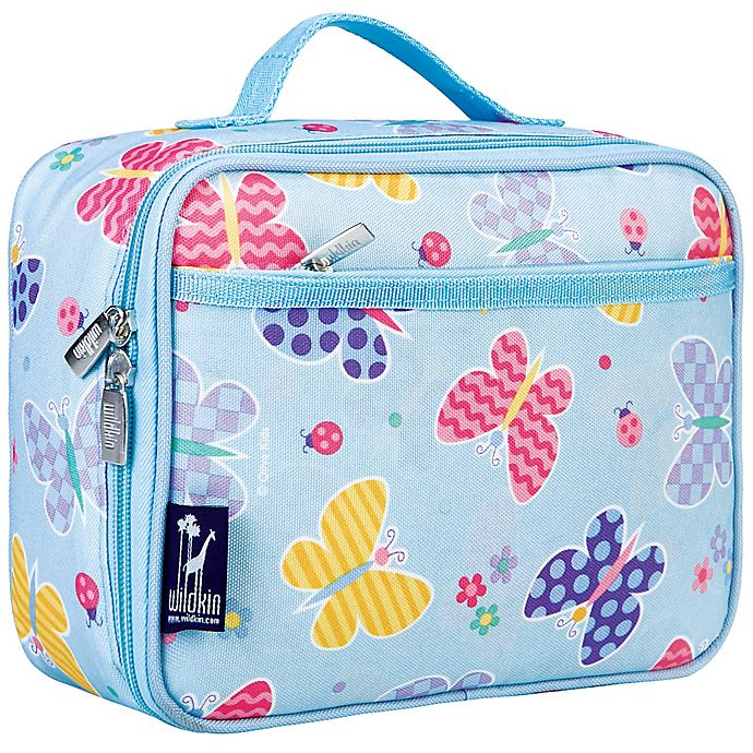 Alternate image 1 for Olive Kids Butterfly Garden Insulated Fabric Lunch Box