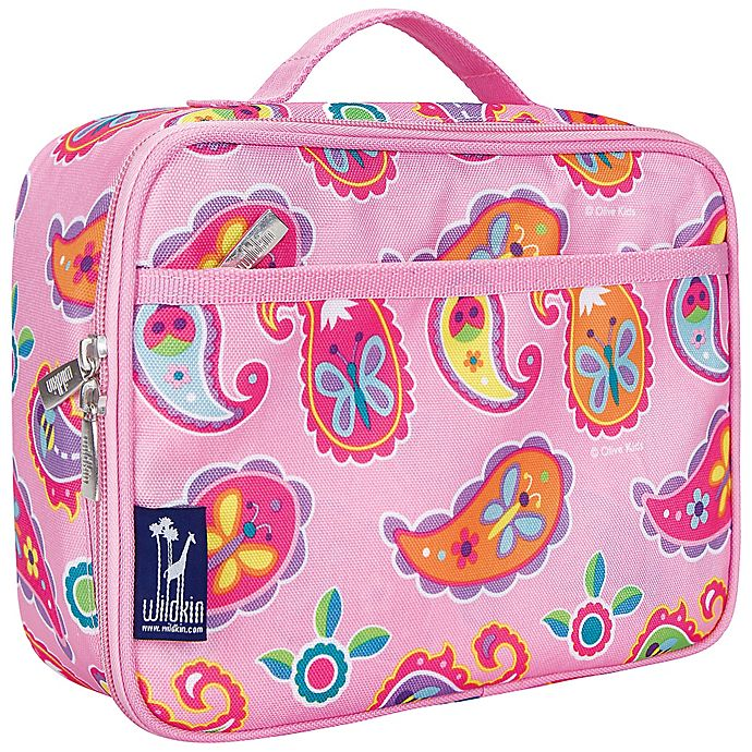 Alternate image 1 for Olive Kids Paisley Lunch Box in Pink