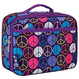 Wildkin Peace Signs Lunch Box in Purple