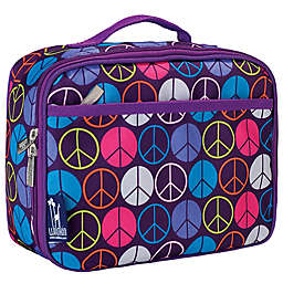 Wildkin Peace Signs Lunch Box in Purple